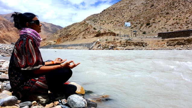 Banks of Karnali River(Nepal Tibet Border)