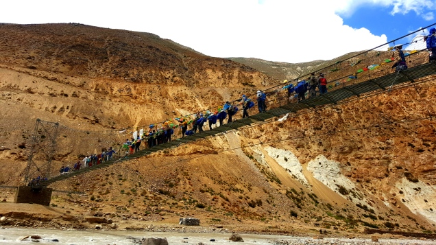 Friendship Bridge(Nepal Tibet Border)