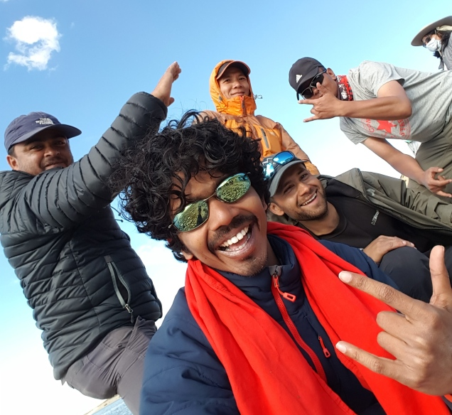 Mount Kailash Trek Support crew