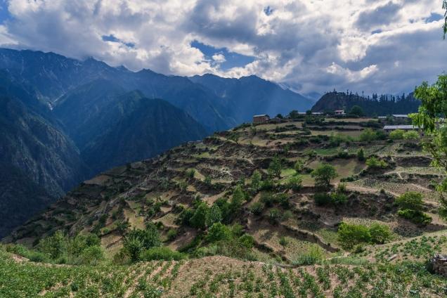 Simikot village
