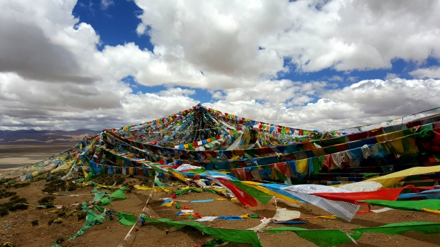 Tibetan Temple at the top Darchen