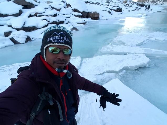 Chadar-Trek-Zanskar-Selfie