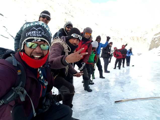 Chadar-Trek-Zanskar-Team