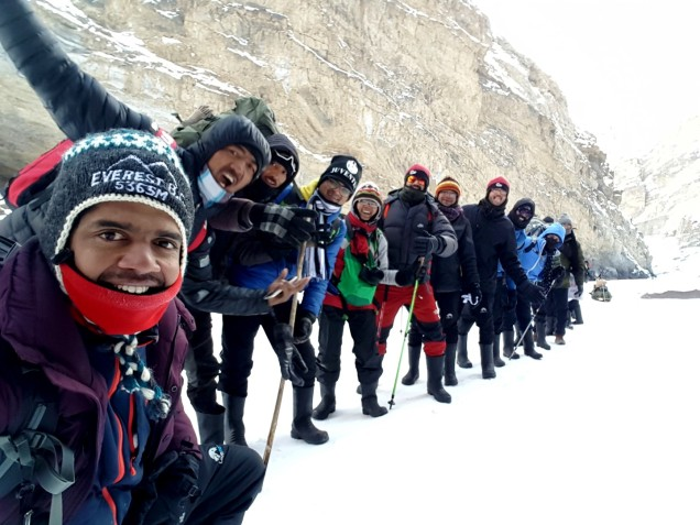 Chadar-Trek-Zanskar-The-Team