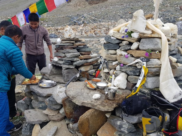 03-Mount-Nun-Advanced-Base-Camp-Puja